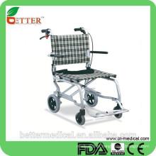 Cadeira de rodas de transferência ortopédica de alumínio