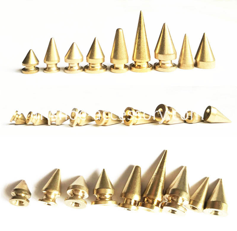 Spike Cone Screw Back Rivets