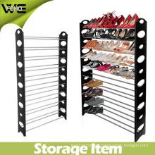Cheap Easy Assemble Waterproof Plastic Storage Shoe Rack