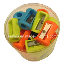 50PCS Kunststoff Bleistiftspitzer in PVC-Glas