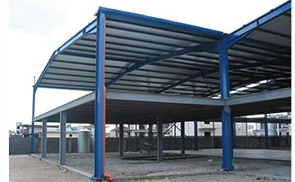 Multi Story Steel Structure Residential