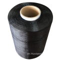 Dope Dyed Twisted Polyester Garn 1100dtex / 192F 60Z BALCK