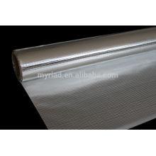 Tissu tissé en aluminium et tissu / matériau d'isolation tissé avec feuille d'aluminium et bulle