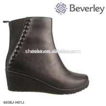 New Fashion fully cowskin leather women bots for Autumn/Winter