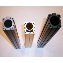 Perfiles de perfil de puerta de aluminio extruido de aluminio