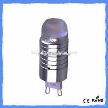 New cars mini silicon AC 110V or 230 3000K 2W G9 LED 10W