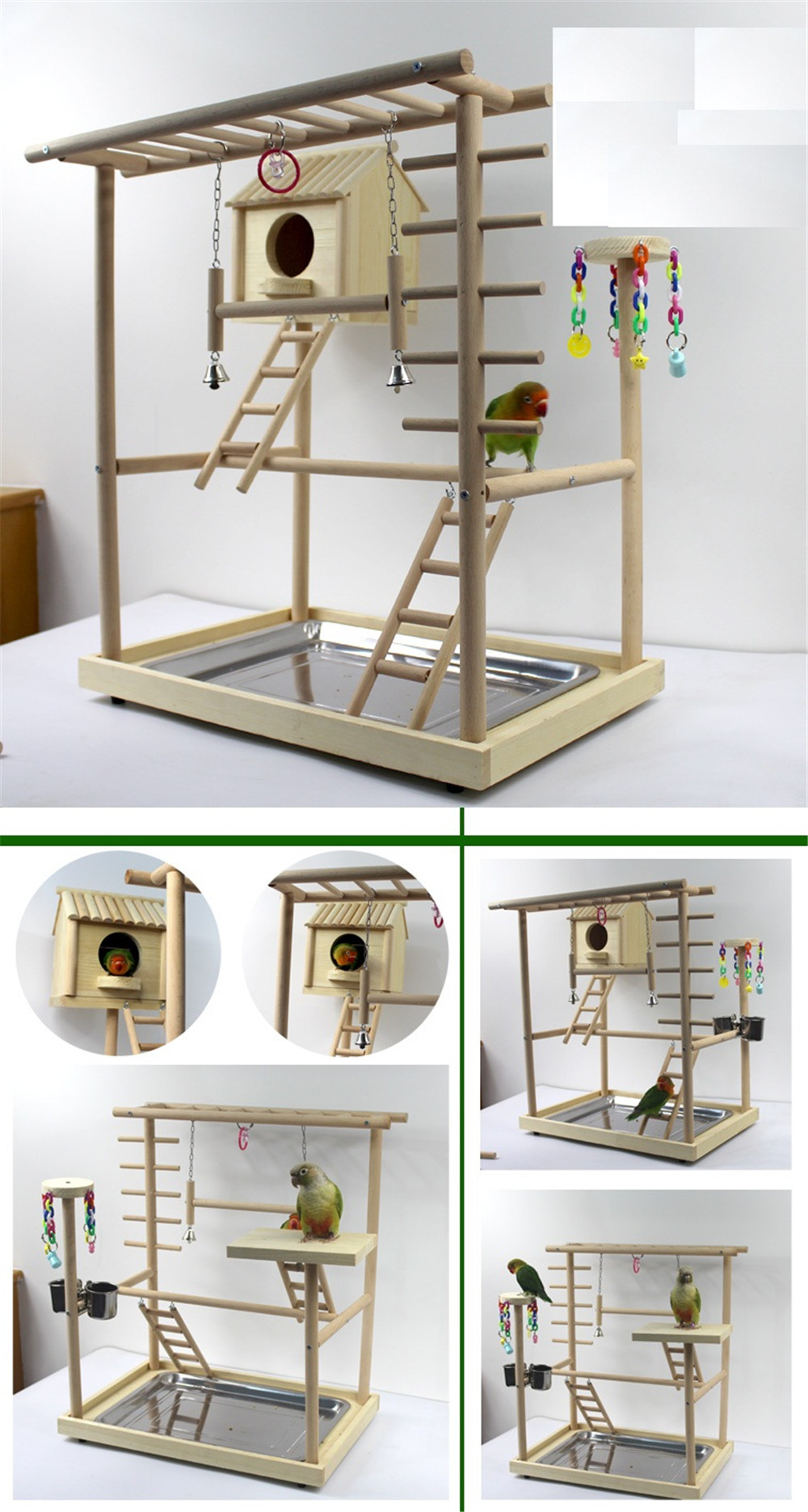 bird house with activity room