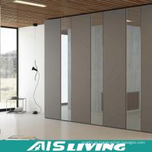 Armarios de dormitorio de estilo simple hechos a medida con espejo (AIS-W269)