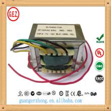 CE UL CQC certificação 230v ac 12 dc transformador