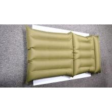 Matelas à lit d'eau gonflable en PVC Revêtement de tissu en PVC avec boîte de couleur W01