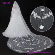 Mehrfache Größen-Spitze-Ordnungs-Brautschleier / Hochzeits-Schleier