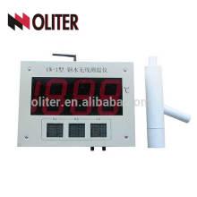 wk-200a instrumento de etiqueta de indicador de temperatura analógico / digital inalámbrico con termopar desechable para acero fundido