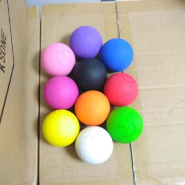 Bola de lacrosse de borracha natural
