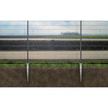 HDG Tornillo de tierra para esgrima y puerta