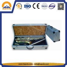 Large Aluminium Flight Saxphone Instrument Case with Foam Protective