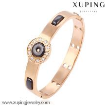 51499- Xuping en acier inoxydable alliage de cuivre bracelet en céramique et bijoux de bracelet