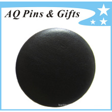 Wholesaler Real Leather Tin Plate Button Badge (button badge-56)