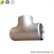 ASME B16.9 A234 Wpb Butt Welding Equal Tee