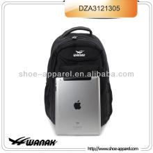 Tablet de Ipad de saco de mochila de Laptop preto