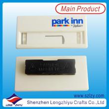 Weiß Kunststoff wiederverwendbare magnetische Namensschild