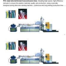 PVC Steel Wire Reinforced Hose Extrusion Line/Machine
