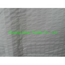 75 * 150D tela poliester llano melocotón piel realzada / realza seersucker