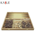 Piezas de ajedrez de madera interactivas de alta calidad