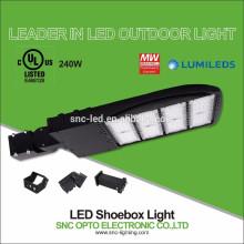 Iluminação da área do diodo emissor de luz do ajustador do deslizamento / área do diodo emissor de luz Dispositivo elétrico da área da lâmpada / diodo emissor de luz 240W