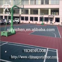 Courts de tennis en plein air tapis de caoutchouc sport multifonctionnel tapis en caoutchouc