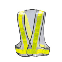 Yellow Mesh Police emergency vest