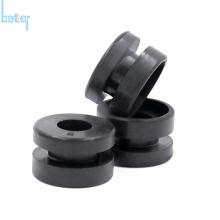 Формованная по индивидуальному заказу круглая уплотнительная втулка из силиконовой резины EPDM