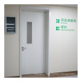 90 degree open hospital room door 1.5 Galvanized steel plate steel door