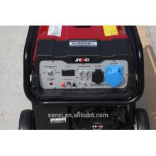 Generador de gasolina portátil ahorro de combustible con piezas de repuesto