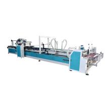 Automatic carton board folder glue machine