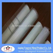 5 * 5 Mm Fibra de Vidro Wire Mesh / Wall Material Gridding Pano