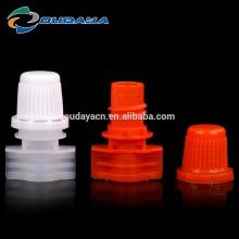 Hot sell 8.2mm single gap plastic spout cap screw cap