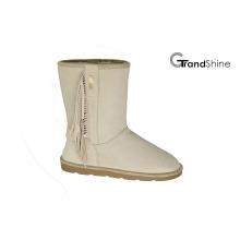 Nuevas botas de las mujeres de la llegada Borlas de la nieve