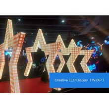 Pantalla LED Irregular 3D Lightweight personalizable