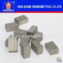 [Ferramentas de diamante personalizadas] Segmento de diamante para corte de granito e mármore, grau de qualidade que atende às suas necessidades