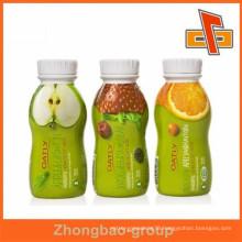 plastic pvc shrink film,beverages bottle label, PVC heat shrink film made in China
