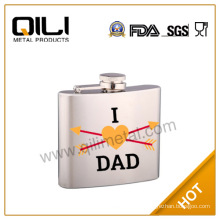 whisky stainless steel hip flask