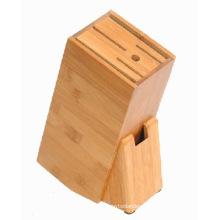 Bamboo Knife Block Knife Holder