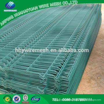 Suministre la valla de malla de alambre soldado revestido del pvc moderno compre de alibaba