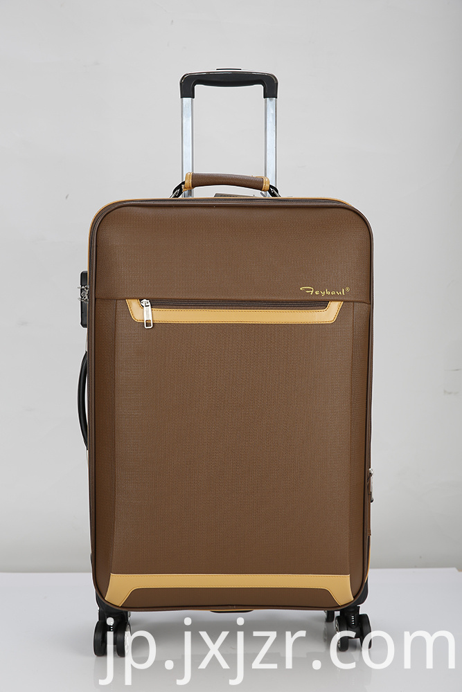 Carry-On with Smooth Spinner Wheels
