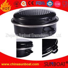 Sunboat Emaille Röster Herd Geschirr Haushaltsgerät