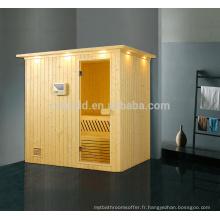K-715 Made in China haute qualité sauna, 4 personne à la maison utilisé hammam, salle de sauna à vapeur