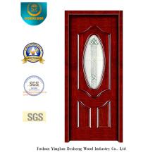 Puerta de seguridad Simplestyle con vidrio para entrada (s-1013)