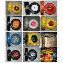 Wholesale Diversa rueda de goma de la espuma de la PU
