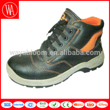 Quality genuine leather custom high ankle safety boots
