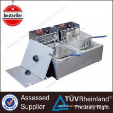 Commercial Restaurant Ovens 2-Tank 2-Basket Electric Deep Automatic Fryer